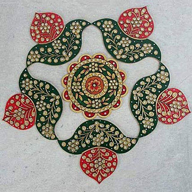 Diwali Rangoli Pattern