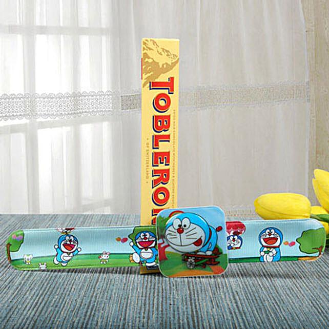 Doraemon Rakhi N Exotic Taste