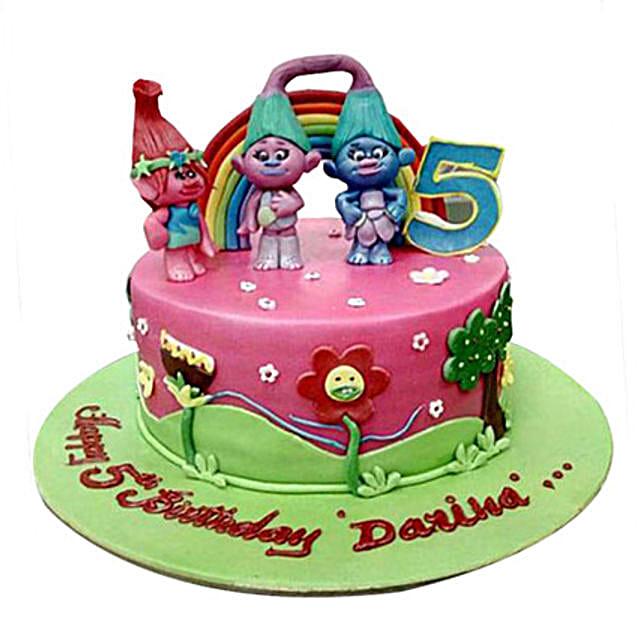 Dwarfs Cartoon Cake