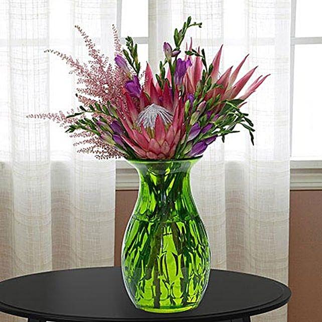 Enchanting Flower Vase