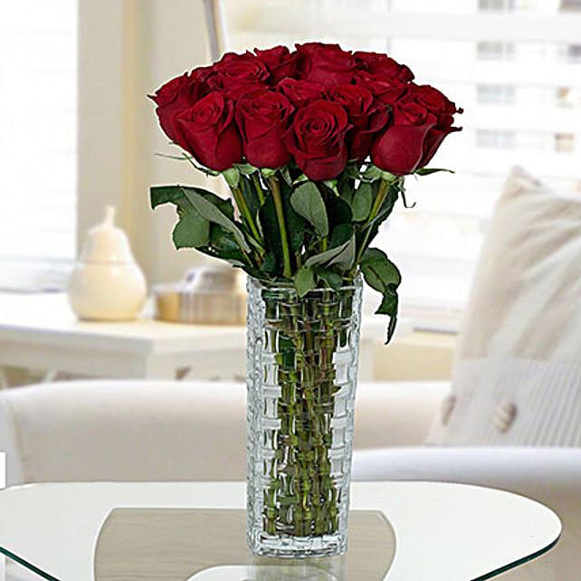 Gorgeous Red Roses Arrangement