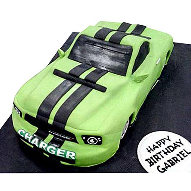 Green Dodge Cake