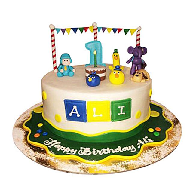 Happy Pocoyo Cake
