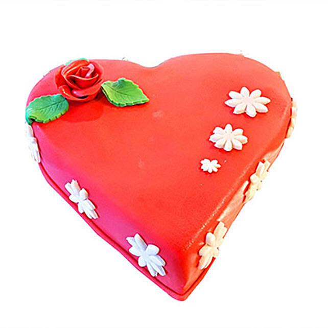 Hazelnut Choco Heart Cake
