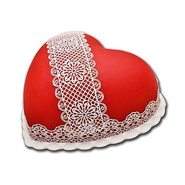 Heart Shaped Full Cake