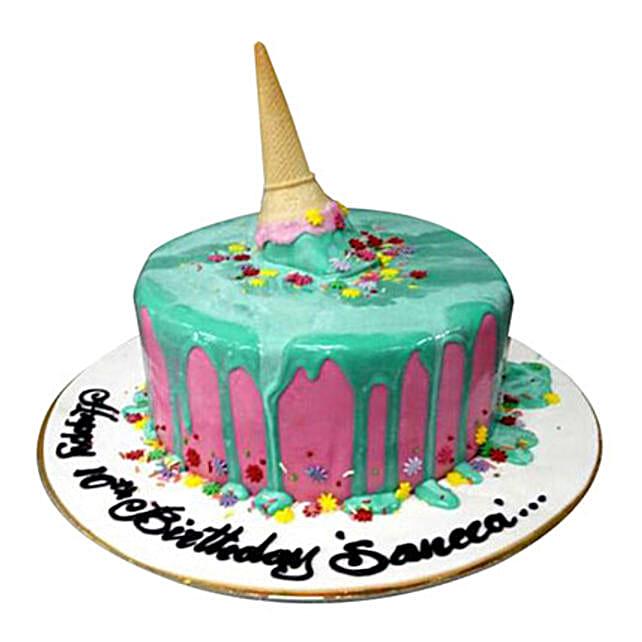 Ice Cream Corn Cake