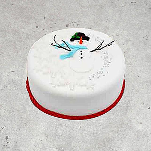 Icing Christmas Cake 4 Portions