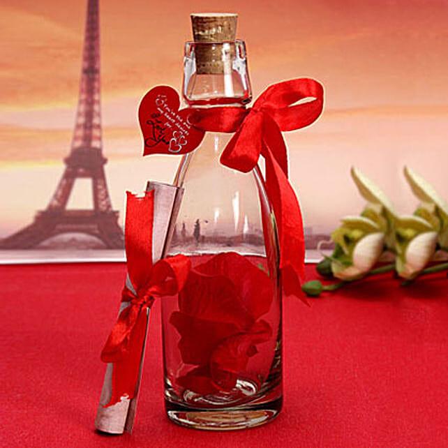 Love note In a Bottle