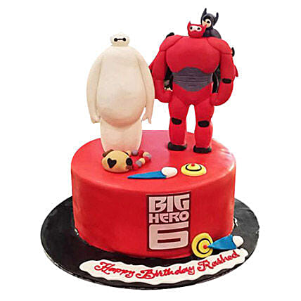 Lovely Big Hero Cake
