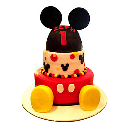 Lovely Mickey Cake