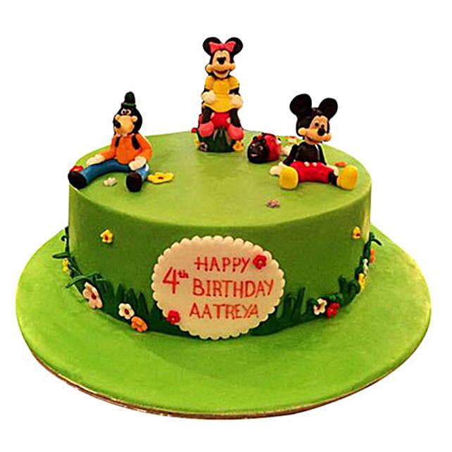 Mickey and Family Cake