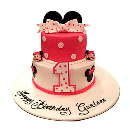 Minnie the cutie Cake
