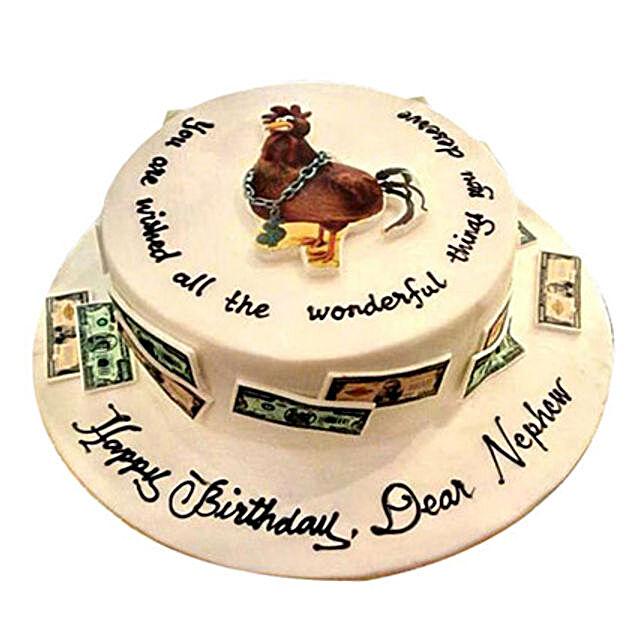 Money Chicken Cake