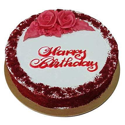 Red Velvet Birthday Cake in uae Gift Red Velvet Birthday Cake