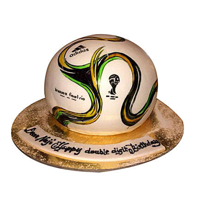 Rio Football Cake
