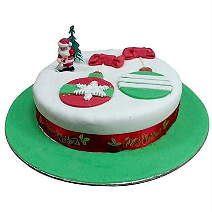 Santa Greetings Cake