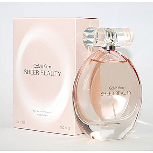 Sheer Beauty by Calvin Klein