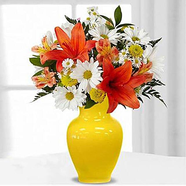 Sunrise Sentiments Bouquet Premium