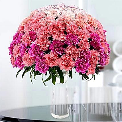 Surprise with Carnations