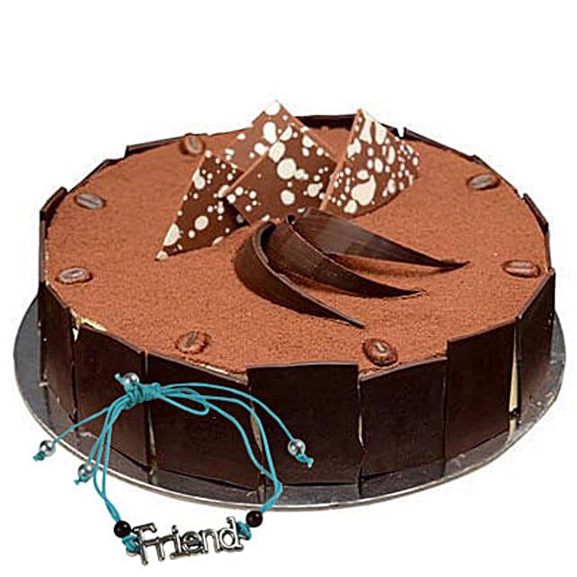 Tiramisu Cake with Friendship Band