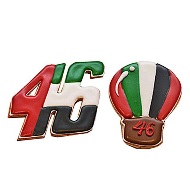 UAE Day Cookies Set of 5