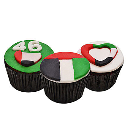 UAE Day Cup Cakes 12 Pcs