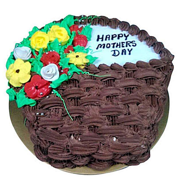 Vanilla and Choco Cake for Mom