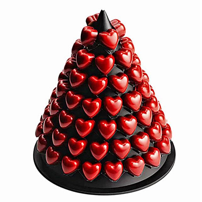 Vanilla Chocolate Tower