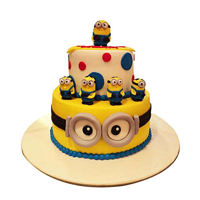 World of Minions Cake