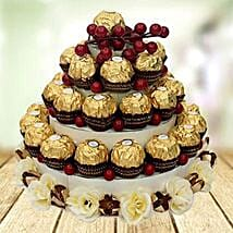 Send easter gift to uae easter gift delivery in uae ferns n petals chocolate tower easter gifts to uae negle Gallery