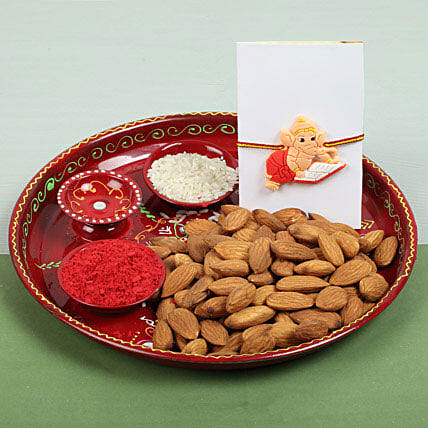 Celebration with Almonds