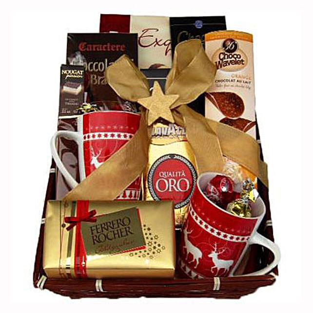 Coffee with monika christmas gift basket in uk gift coffee with coffee with monika christmas gift basket negle Image collections