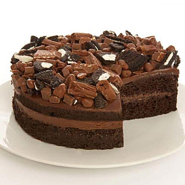Crazy Chocolate Fudge Cake Madness