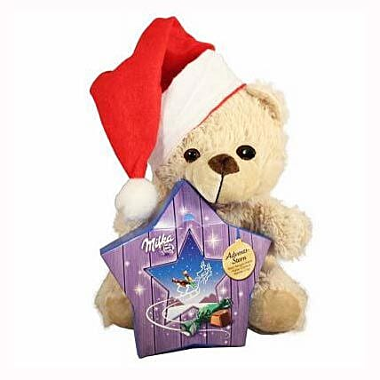 My Sweet Milka Teddy Christmas Star