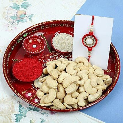 Raksha Bandhan with Cashew Nuts