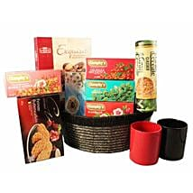 Send gift hampers to uk with free shipping ferns n petals tea time gift basket gift baskets in london uk negle Gallery
