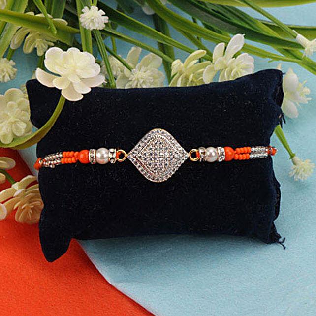 American Diamond Premium Rakhi UKR