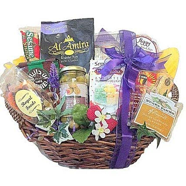 Arabian Nights Gourmet basket