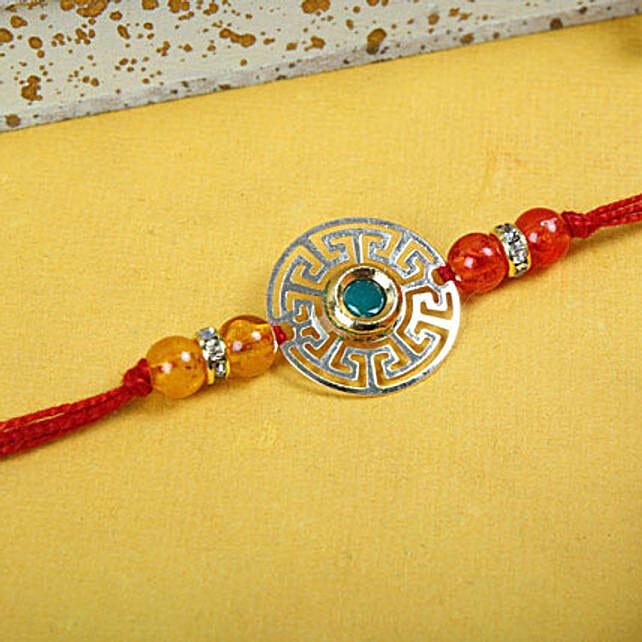 Beads N Circle Rakhi