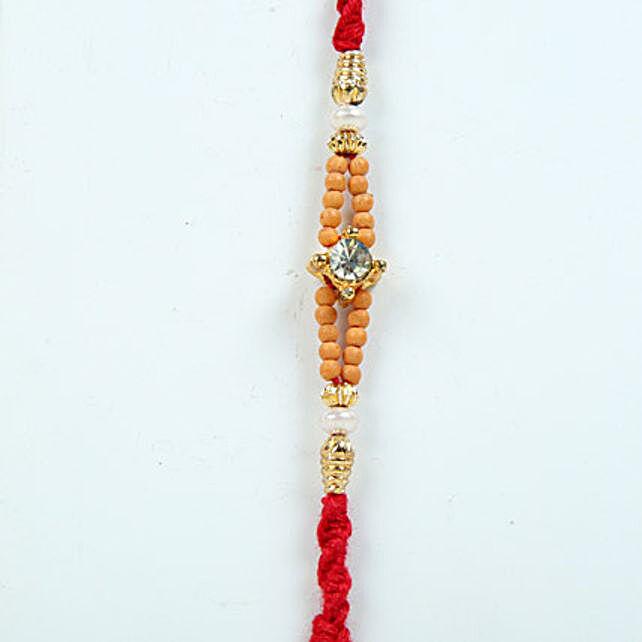 Beads N Crystal Rakhi