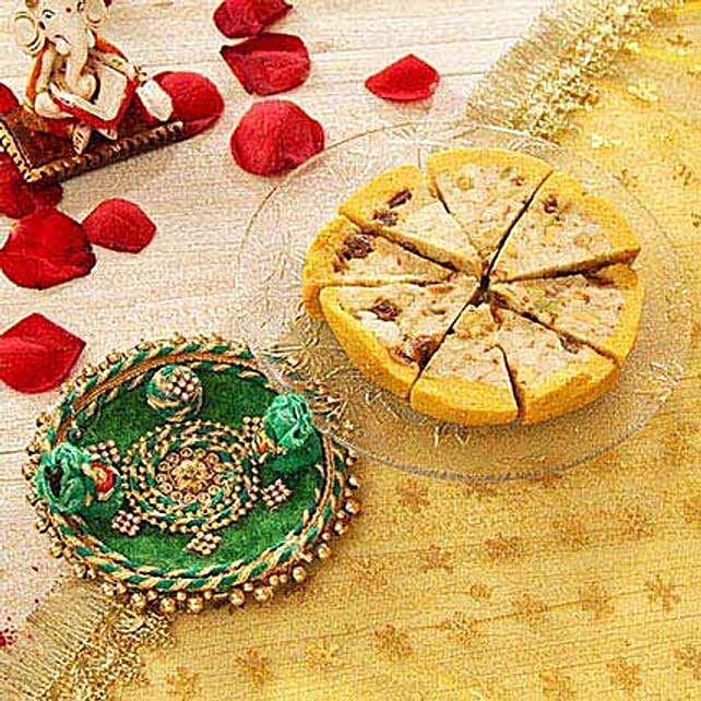 Cassata Roll and Puja Thali