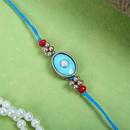 Cool Blue Rakhi