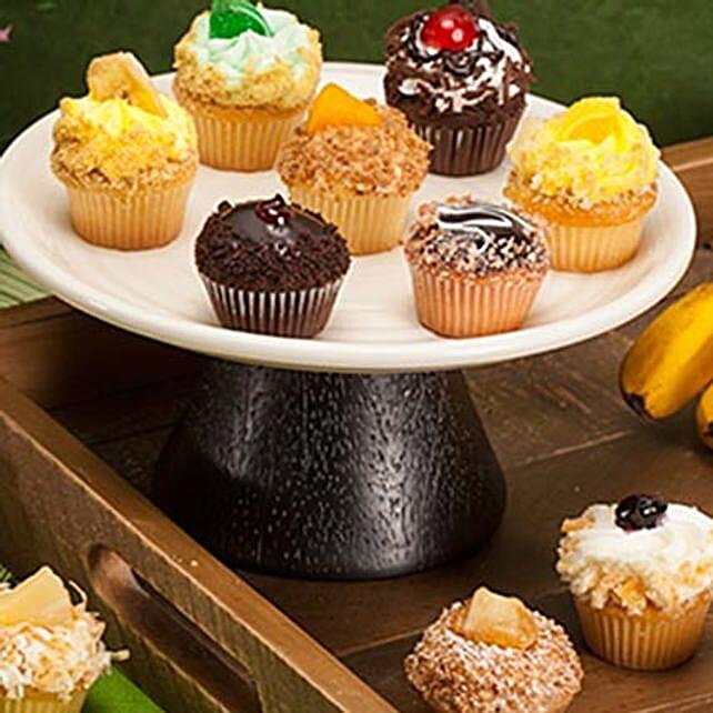 CRUMBS Mini Tutti Frutti Cupcakes
