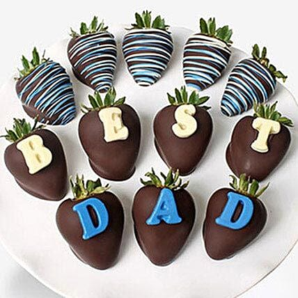 Fathers Day Chocolate Covered Strawberries