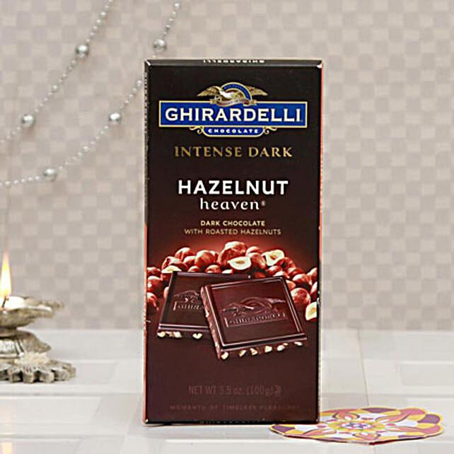 Ghirardelli Hazelnut Dark Chocolates