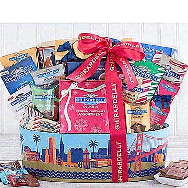 Ghirardelli San Francisco Chocolate Basket