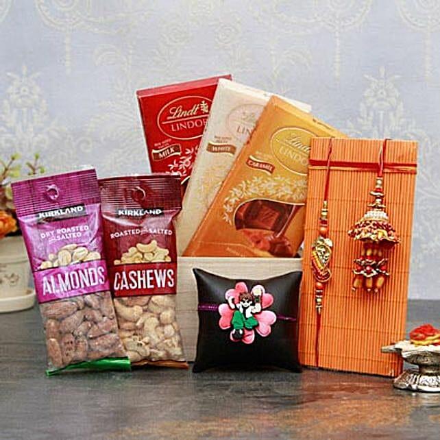 Healthy n Yummy Rakhi Pack