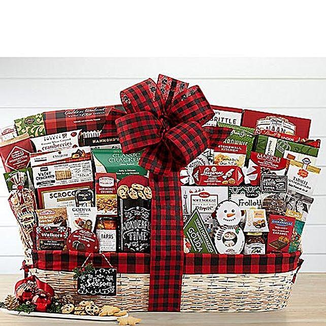 Holiday Extravaganza Gift Basket