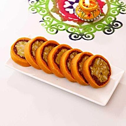 Jaybharat Dryfruit Orange Casatta Roll