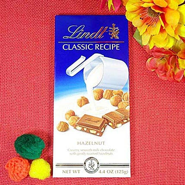 Lindt Classic Hazelnut Choco Bite